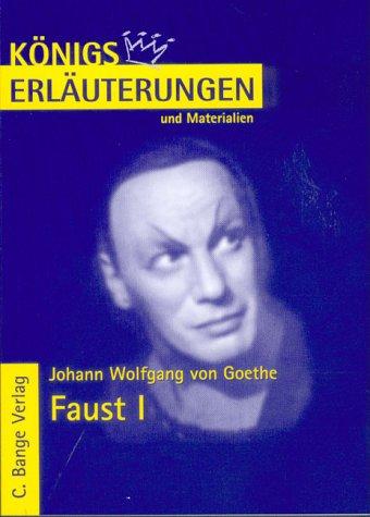 9783804416710: Königs Erläuterungen und Materialien, Bd.21, Faust I