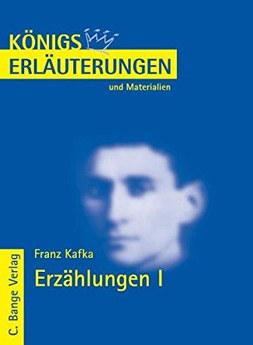 Erzählungen 1. Erläuterungen und Materialien. (3804417264) by Kafka, Franz