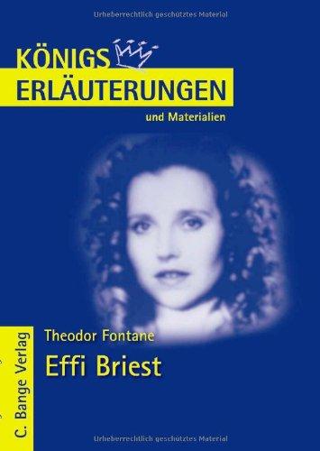 9783804417304: Effi Briest. Erläuterungen und Materialien