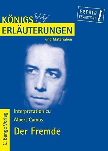 Der Fremde (L'Étranger) von Albert Camus. Königs: Albert Camus; Reiner