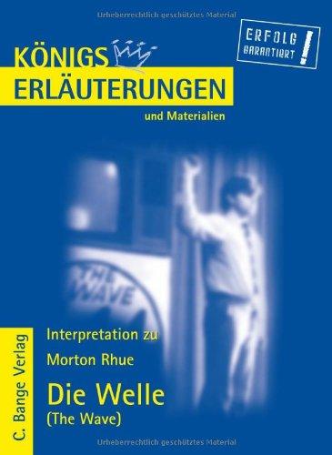 9783804418059: Rhue, M: Welle/Erläut. u. Mat