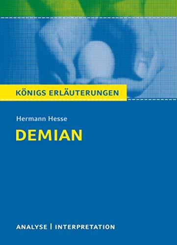 9783804419124: Textanalyse und Interpretation zu Hermann Hesse. Demian: Alle erforderlichen Infos für Abitur, Matura, Klausur und Referat plus Prüfungsaufgaben mit Lösungen (Königs Erläuterungen/Materialien)