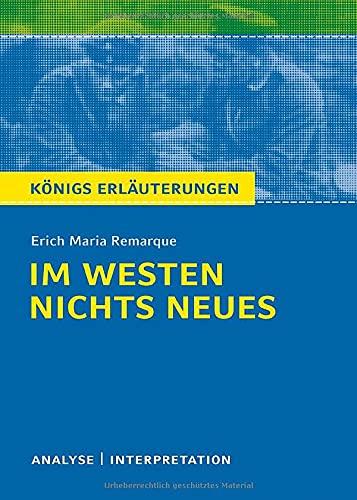 Im Westen nichts Neues von Erich Maria: Erich Maria Remarque