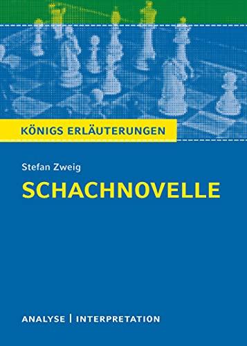 9783804419865: Schachnovelle: Textanalyse und Interpretation mit ausführlicher Inhaltsangabe und Abituraufgaben mit Lösungen