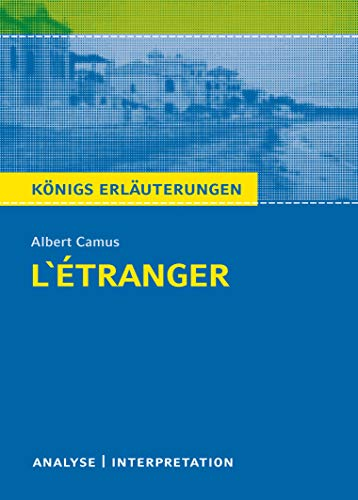 L'Étranger - Der Fremde von Albert Camus.: Albert Camus