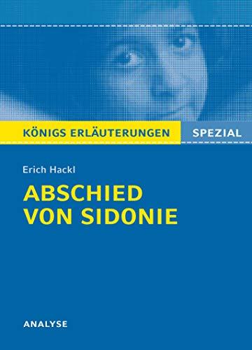 Abschied von Sidonie von Erich Hackl Analyse: Seedorf, Karla