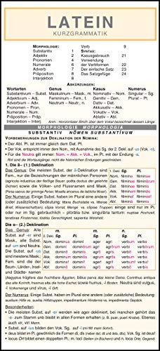 9783804488953: Latein - Kurzgrammatik: Die komplette Grammatik anschaulich und verständlich dargestellt