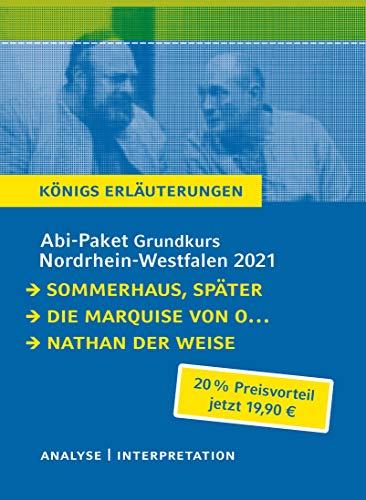 Abitur-Paket Nordrhein-Westfalen 2021. Deutsch Grundkurs - Königs: Gotthold Ephraim Lessing