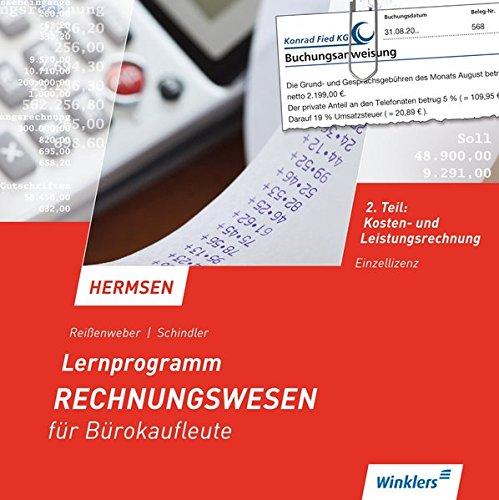 9783804520875: Lernprogramm zu Hermesen. Rechnungswesen für Bürokaufleute 2. CD-ROM für Windows ab Windows 2000