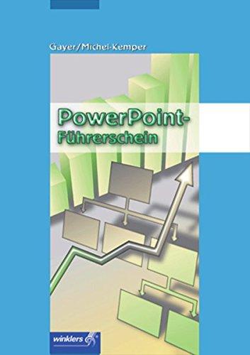 9783804546813: Power-Point-Führerschein