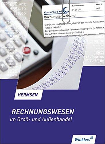 9783804566842: Rechnungswesen im Groß- und Außenhandel. Schülerband