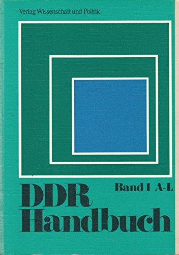 DDR-Handbuch; Band 2; M - Z. ,hrsg.: Zimmermann, Hartmut [Hrsg.]: