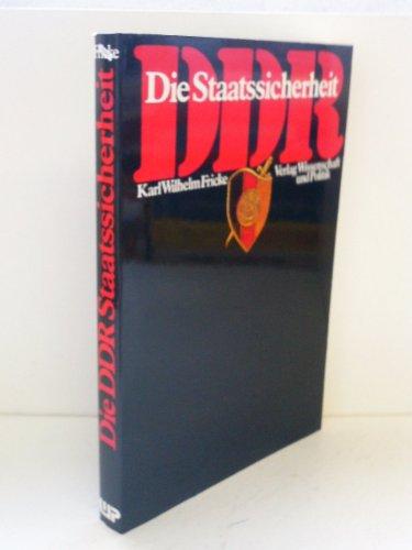 9783804687325: Die DDR-Staatssicherheit. Entwicklung, Strukturen, Aktionsfelder