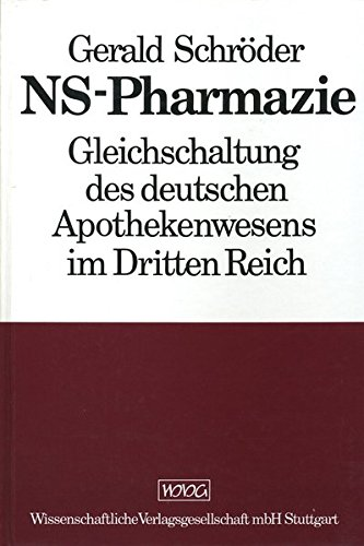 NS - Pharmazie: Gerald Schr�der