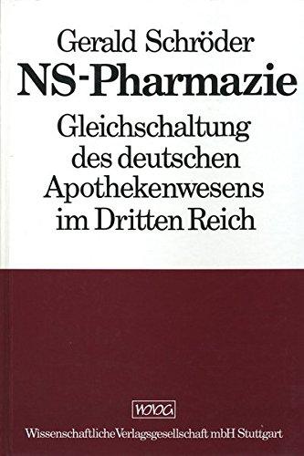 NS - Pharmazie: Gerald Schröder