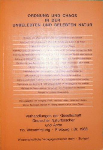 Ordnung und Chaos in der unbelebten und: Ax, Peter u.a.: