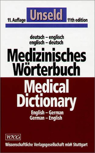 9783804714762: German-English/English - German Medical Dictionary