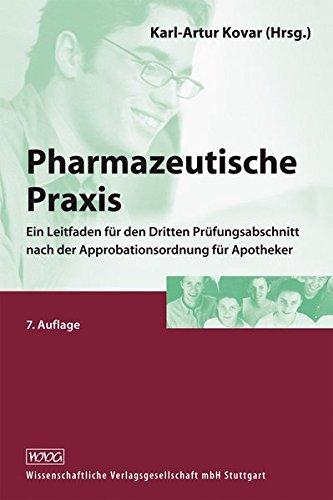 Pharmazeutische Praxis: Karl-Artur Kovar
