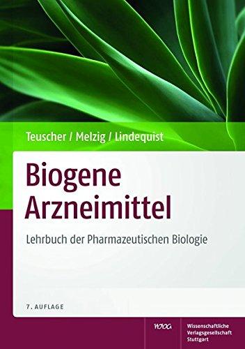 Biogene Arzneimittel: Eberhard Teuscher