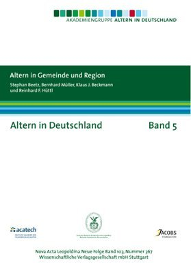 9783804725461: Altern in Deutschland Band 5. Altern in Gemeinde und Region: Altern in Deutschland Band 5