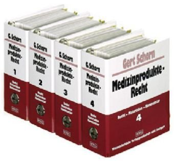 9783804726147: Medizinprodukte-Recht. 4 Ordner: Recht - Materialien - Kommentar