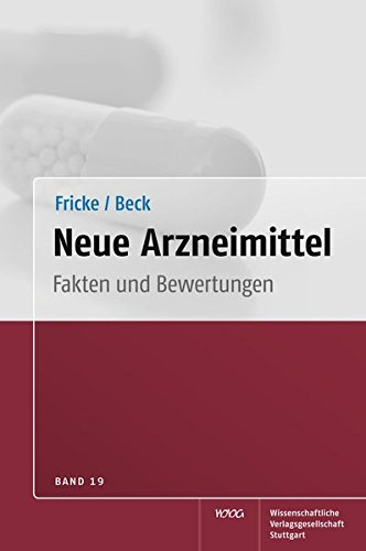 Neue Arzneimittel, Band 19: Uwe Fricke