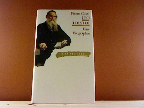 9783805204255: Leo Tolstoi. Eine Biographie