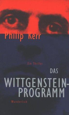 9783805205412: Das Wittgensteinprogramm. Ein Thriller