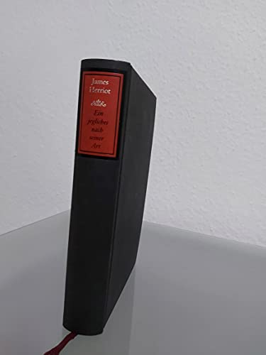 9783805205429: Ein jegliches nach seiner Art. Neue Geschichten vom Doktor und dem lieben Vieh