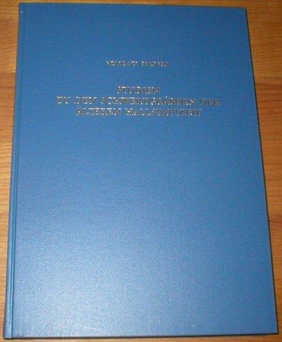 9783805308137: Studien zu den Schwertgräbern der älteren Hallstattzeit (German Edition)