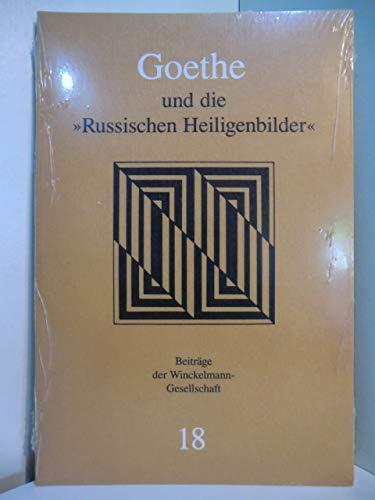 9783805312042: Goethe und die