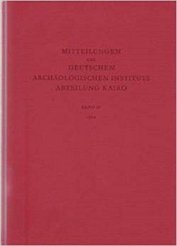 Mitteilungen des Deutschen Archäologischen Instituts, Abteilung Kairo, Bd.50, 1994