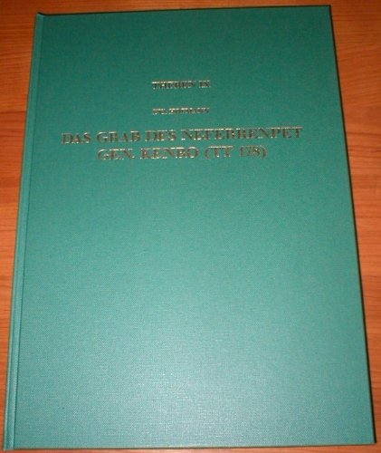 9783805317191: Das Grab des Neferrenpet gen. Kenro (TT 178) (Theben) (German Edition)