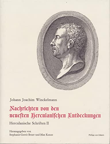 9783805320252: Herkulanische Schriften Winckelmanns (Schriften und Nachlass / Johann Joachim Winckelmann) (German Edition)