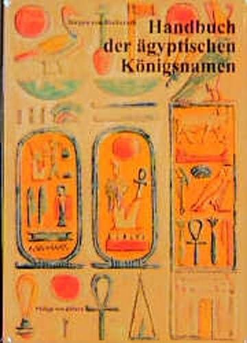 9783805325912: Handbuch Der Agyptischen Koningsnamen (Münchner ägyptologische Studien) (German Edition)