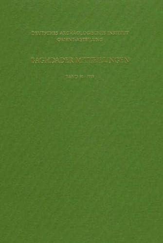 9783805326568: Baghdader Mitteilungen: Baghdader Mitteilungen, Bd.30: Bd 30