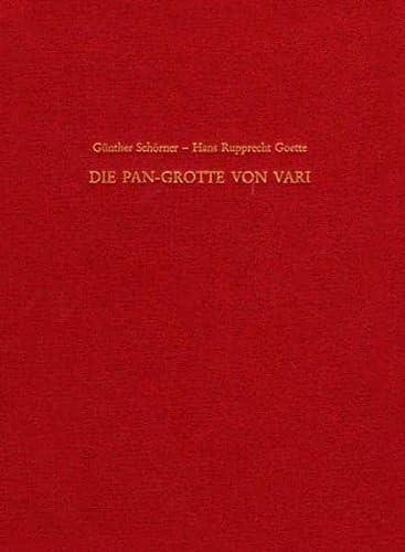 9783805333634: Die Pan-Grotte von Vari