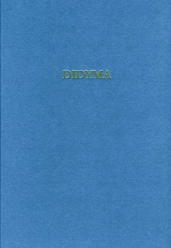 9783805338271: Didyma / Die Fundkeramik vom 8. bis zum 4. Jahrhundert v. Chr. (German Edition)