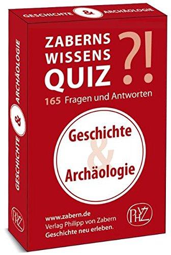 9783805340885: Zaberns Wissensquiz: Geschichte und Archaologie (German Edition)