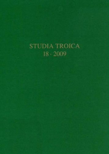 9783805341158: Studia Troica Band 18