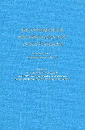 9783805343251: Die Fundmuenzen der romischen Zeit in Deutschland (Die Fundmunzen Der Romischen Zeit in Deutschland) (German Edition)