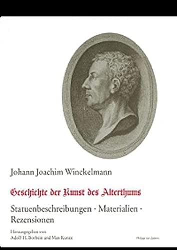 Geschichte des Alterthums: Johann Joachim Winckelmann