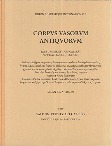 9783805348881: Corpus Vasorum Antiquorum: Yale University Art Gallery. Fascicule 2