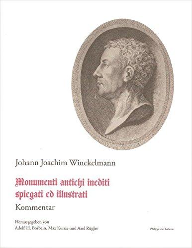 Schriften und Nachlass 6.2. Monumenti antichi inediti. spiegati ed illustrati: Johann Winckelmann