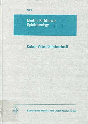 Colour Vision Deficiencies II (Modern Problems in Ophthalmology) (No. 2): n/a
