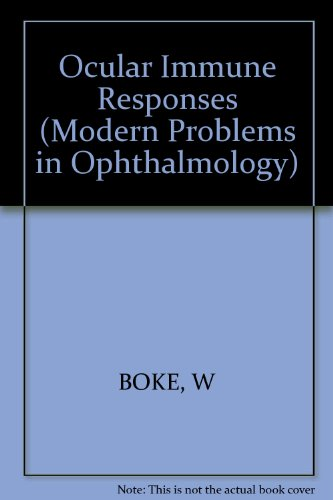 Ocular immune responses : proceedings of the: Böke, Wilhelm [Hrsg.]: