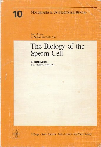 9783805522045: The Biology of the Sperm Cell (Monographs in Developmental Biology, Vol. 10)