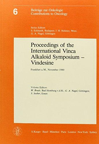 Proceedings of the International Vinca alkaloid Symposium-Vindesine: Brade, W. /