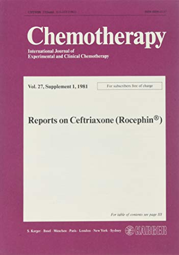 9783805530347: Reports on Ceftriaxone (Rocephin®)
