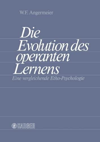 9783805535229: Die Evolution Des Operanten Lernens (German Edition)